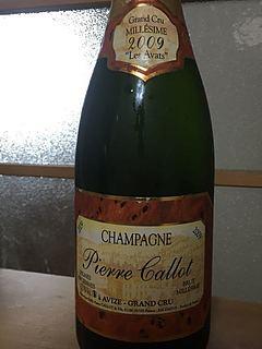 Pierre Callot Les Avats Avize Grand Cru Brut Millésime(ピエール・カロ レ・ザヴァ アヴィズ グラン・クリュ ブリュット ミレジメ)