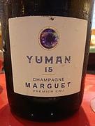 Champagne Marguet Yuman 15 1er Cru Extra Brut