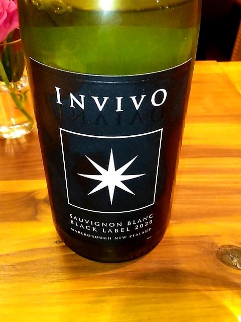 Invivo Black Label Sauvignon Blanc(インヴィーヴォ ブラック・ラベル ソーヴィニヨン・ブラン)
