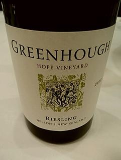 Greenhough Hope Vineyard Riesling