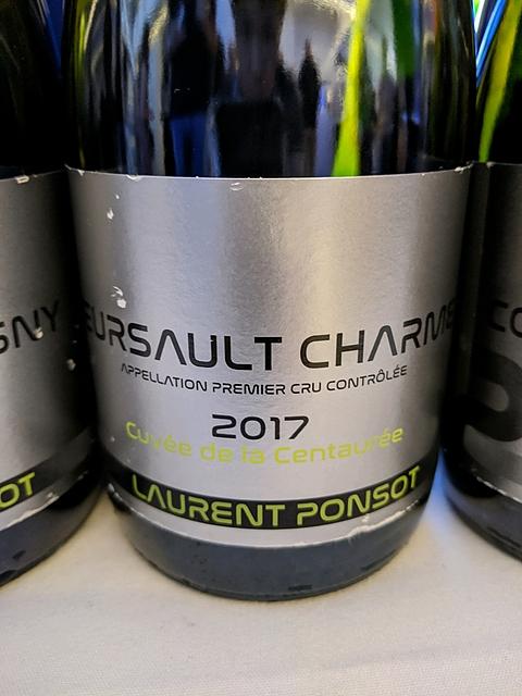 Laurent Ponsot Meursault Charmes Cuvée de la Centaurée(ローラン・ポンソ ムルソー シャルム キュヴェ・ド・ラ・サントレ)