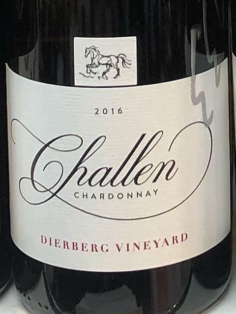 Challen Chardonnay Dierberg Vineyard(シャレーン シャルドネ ディアバーグ・ヴィンヤード)