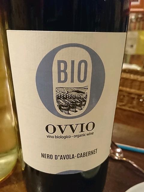 Ovvio Nero d'Avola Cabernet Bio(オッヴィオ ネロ・ダーヴォラ カベルネ ビオ)