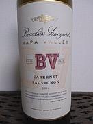 ボーリュー・ヴィンヤード BV ナパヴァレー カベルネ・ソーヴィニヨン(2016)