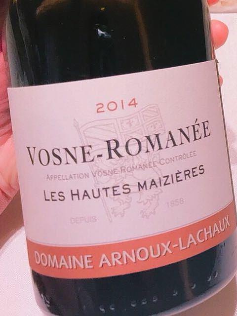 Dom. Arnoux Lachaux Vosne Romanée(ドメーヌ・アルヌー・ラショー ヴォーヌ・ロマネ)