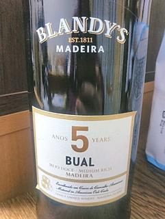 Blandy's Bual 5 Years Old(ブランディーズ・ブアル 5・イヤーズ・オールド)