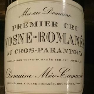 Dom. Méo Camuzet Vosne Romanée 1er Cru Au Cros Parantoux(ドメーヌ・メオ・カミュゼ ヴォーヌ・ロマネ プルミエ・クリュ オー クロ・パラントゥ)