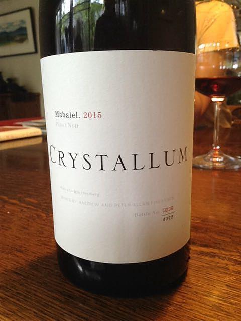 Crystallum Bona Fide Pinot Noir(クリスタルム ボナ・ファイド ピノ・ノワール)