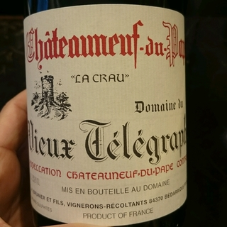Dom. du Vieux Télégraphe Châteauneuf du Pape La Crau Blanc