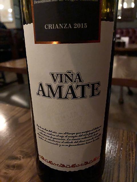 Viña Amate Crianza(ヴィーニャ・アマテ クリアンサ)