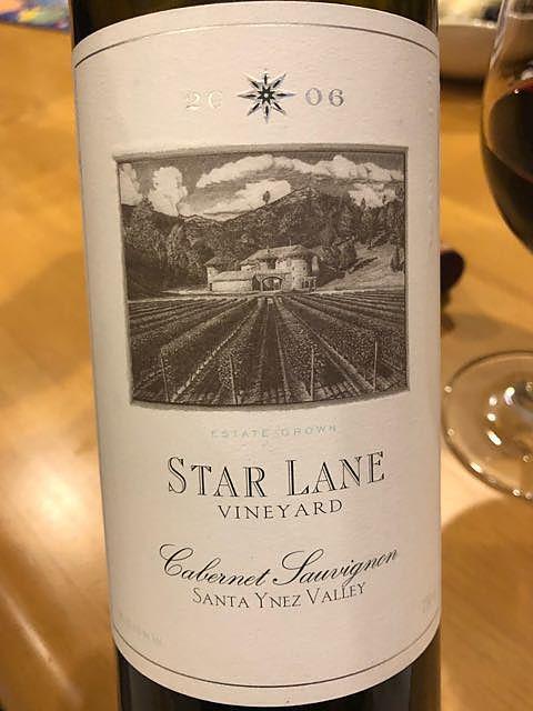 Star Lane Cabernet Sauvignon Santa Ynez Valley