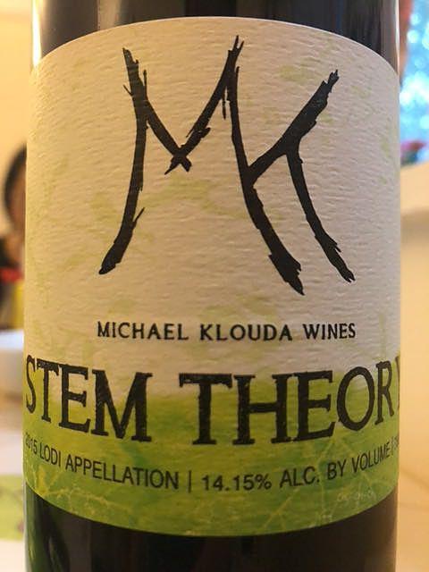 Michael Klouda Wines Stem Theory(マイケル・クロウダ・ワインズ ステム・セオリー)