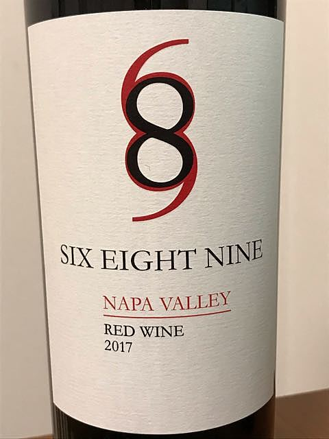 689 Cellars Six Eight Nine Napa Valley Red