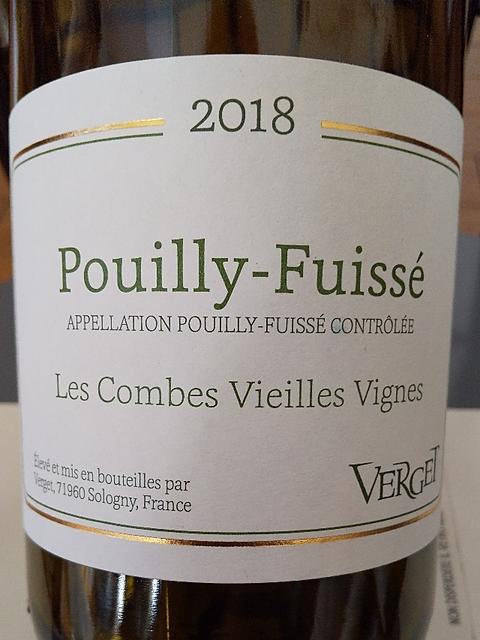 Verget Pouilly Fuissé Les Combes Vieilles Vignes