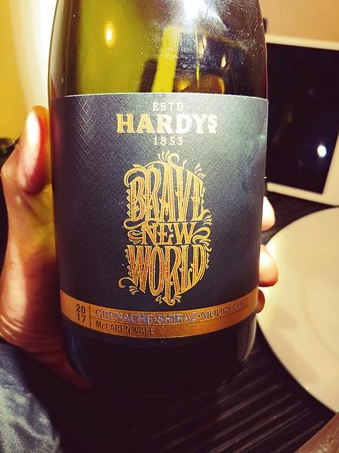 Hardys Brave New World Grenache Shiraz Mourvèdre(ハーディーズ ブレイブ・ニュー・ワールド グルナッシュ シラーズ ムールヴェードル)