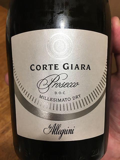 Allegrini Corte Giara Prosecco Millesimato Dry(アレグリーニ コルテ・ジャーラ プロセッコ ミレジマート ドライ)