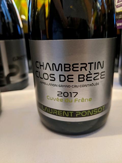 Laurent Ponsot Chambertin Clos de Bèze Cuvée du Frêne(ローラン・ポンソ シャンベルタン・クロ・ド・ベーズ キュヴェ・デュ・フレーヌ)