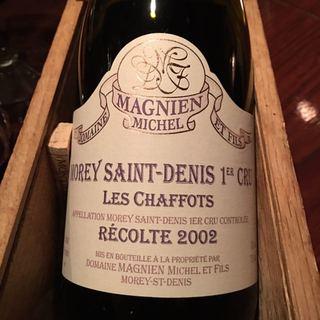 Dom. Michel Magnien Morey Saint Denis 1er Cru Les Chaffots(ドメーヌ・ミッシェル・マニャン モレ・サン・ドニ・プルミエ・クリュ・レ・シャホ)