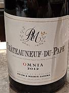 Rotem & Mounir Saouma Châteauneuf du Pape Omnia