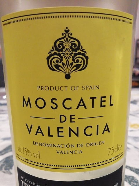 Tesco Moscatel de Valencia
