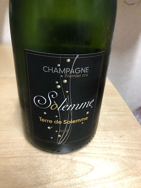 Champagne Solemme Terre de Solemme(シャンパーニュ・ソレーム テール・ド・ソレーム)
