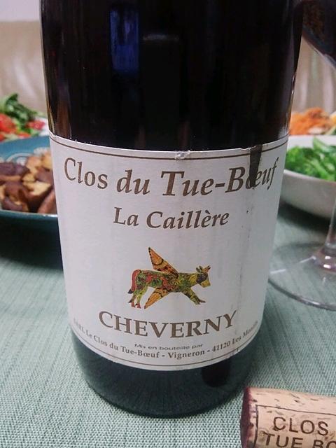 Clos du Tue Boeuf Cheverny La Caillère