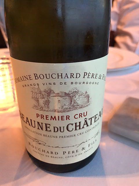 Dom. Bouchard Père & Fils Beaune du Château 1er Cru Rouge(ドメーヌ・ブシャール・ペール・エ・フィス ボーヌ・デュ・シャトー プルミエ・クリュ ルージュ)