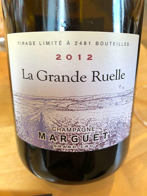 Champagne Marguet La Grande Ruelle(シャンパーニュ・マルゲ ラ・グラン・リュエル)