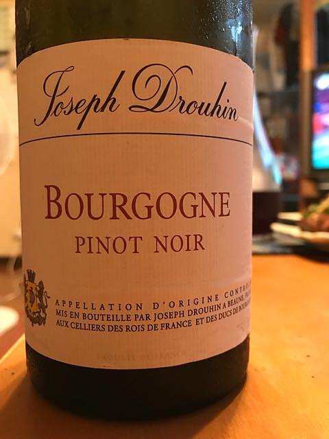 Joseph Drouhin Bourgogne Pinot Noir(ジョゼフ・ドルーアン ブルゴーニュ ピノ・ノワール)