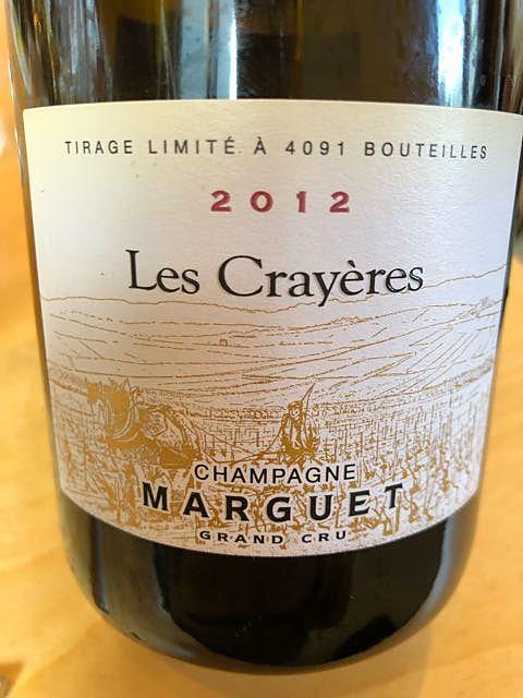 Champagne Marguet Les Crayères