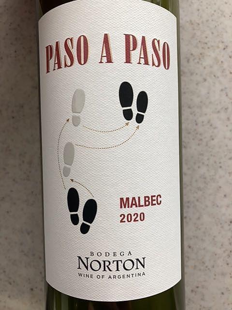 Bodega Norton Paso a Paso Malbec