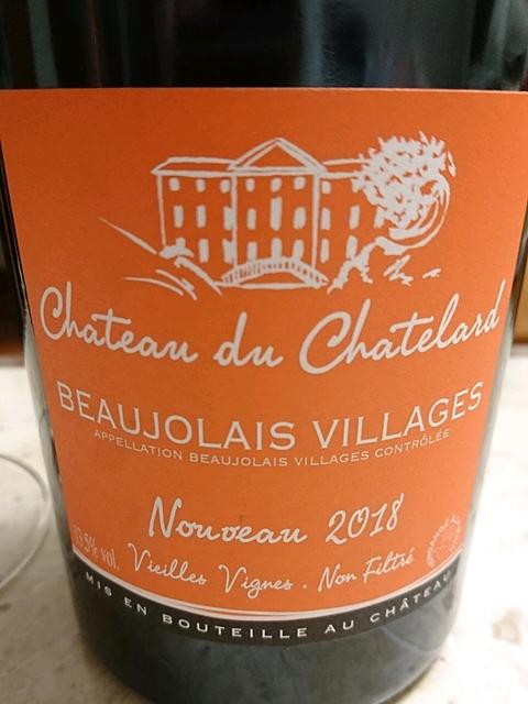 Ch. du Chatelard Beaujolais Villages Nouveau Vieilles Vignes Non Filtré
