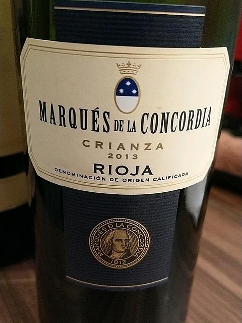 Marqués de la Concordia Crianza