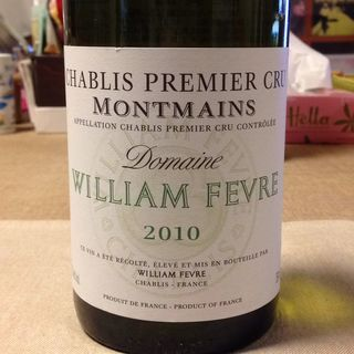 Dom. William Fèvre Chablis 1er Cru Montmains