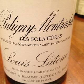 Louis Latour Puligny Montrachet 1er Cru Les Folatières