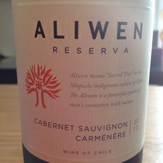 Undurraga Aliwen Reserva Cabernet Sauvignon Carmenère