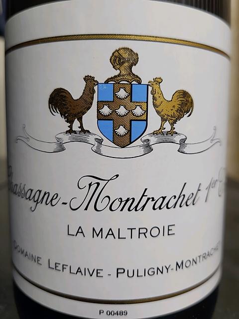 Dom. Leflaive Chassagne Montrachet 1er Cru La Maltroie(ドメーヌ・ルフレーヴ シャサーニュ・モンラッシェ プルミエ・クリュ ラ・マルトロワ)