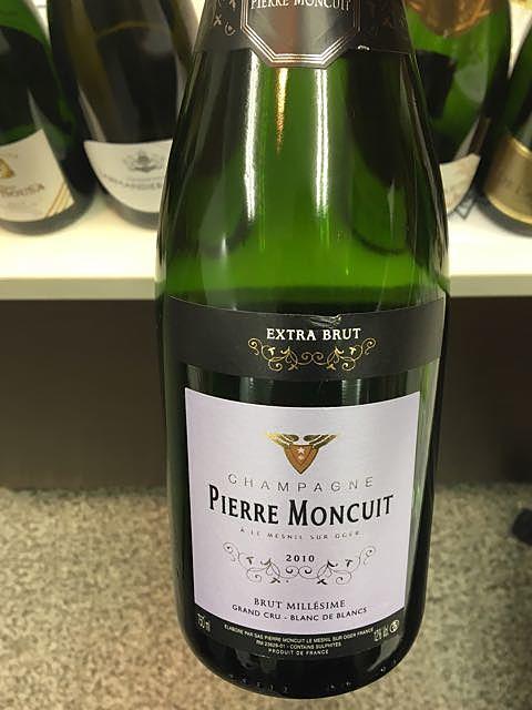 Pierre Moncuit Brut Millésime Extra Brut(ピエール・モンキュイ ブリュット・ミレジメ エクストラ・ブリュット)