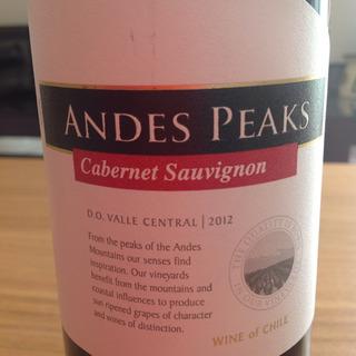 Andes Peaks Cabernet Sauvignon(アンデス・ピークス カベルネ・ソーヴィニヨン)