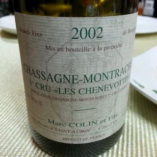 Marc Colin et Fils Chassagne Montrachet 1er Cru Les Chenevottes