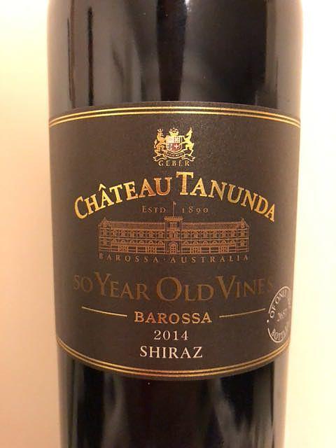 Ch. Tanunda 50 Year Old Vines Shiraz(シャトー・タナンダ フィフティー・イヤー・オールド・ヴァイン シラーズ)