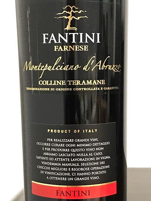 Fantini (Farnese) Montepulciano d'Abruzzo Colline Teramane