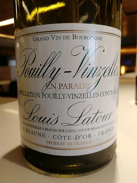 Louis Latour Pouilly Vinzelles En Paradis
