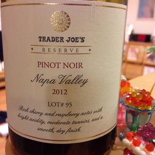 Trader Joe's Reserve Napa Valley Pinot Noir