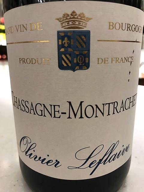 Olivier Leflaive Chassagne Montrachet Rouge(オリヴィエ・ルフレーヴ シャサーニュ・モンラッシェ ルージュ)