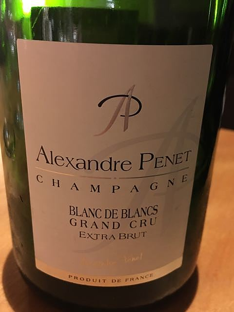 Alexandre Penet Blanc de Blancs Extra Brut Cuvée Grand Cru