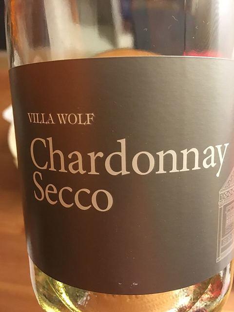 Villa Wolf Chardonnay Secco(ヴィラ・ヴォルフ シャルドネ セッコ)