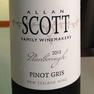 Allan Scott Marlborough Pinot Gris