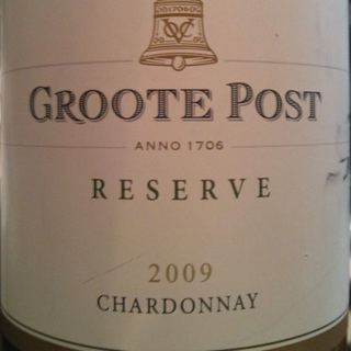 Groote Post Reserve Chardonnay