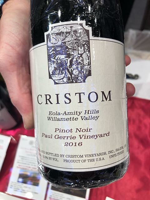 Cristom Pinot Noir Paul Gerrie Vineyard(クリストム ピノ・ノワール ポール・ゲリー・ヴィンヤード)